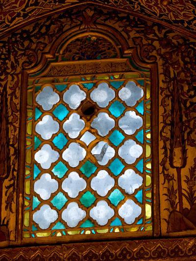 Mevlana Museum Wall and Ceiling Art, Konya, Turkey-Darrell Gulin-Photographic Print