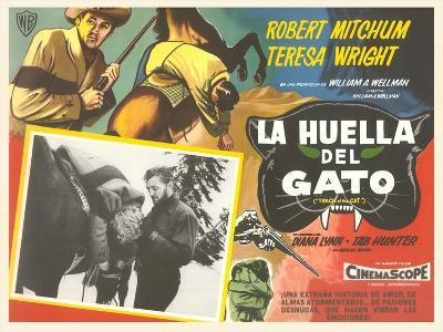 Mexican Advertisement for Cowboy Movie--Art Print