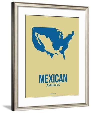 Mexican America Poster 3-NaxArt-Framed Art Print