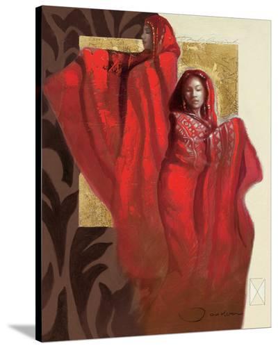 Mexican Dancers-Joadoor-Stretched Canvas Print