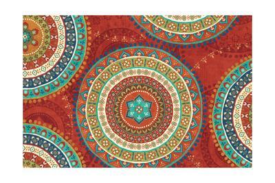 Mexican Fiesta VII-Veronique Charron-Art Print