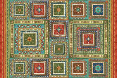 Mexican Fiesta XI-Veronique Charron-Art Print