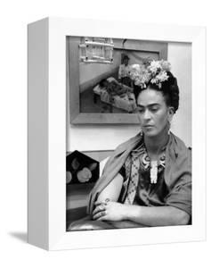 Mexican Painter Frida Kahlo (1907-1954) 1948