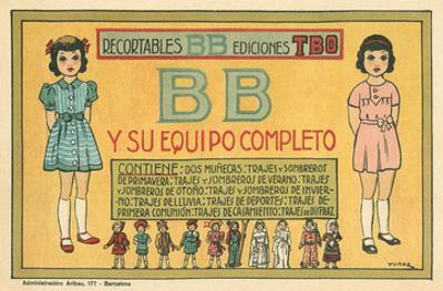 Mexican Paperdolls, Little Girls