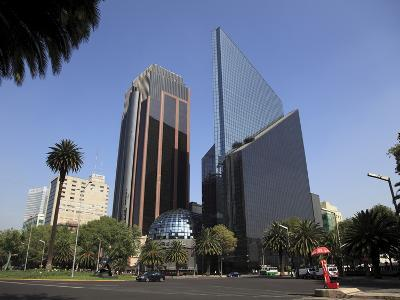 Mexican Stock Exchange Building, Centro Bursatil, Paseo De La Reforma, Reforma, Mexico City, Mexico-Wendy Connett-Photographic Print