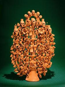 Tree of Life (Single-Fired Earthenware) by Mexican
