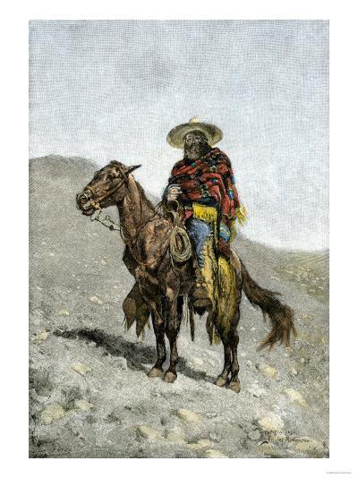 Mexican Vaquero--Giclee Print