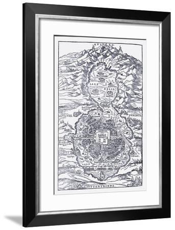 Mexico 1585--Framed Giclee Print