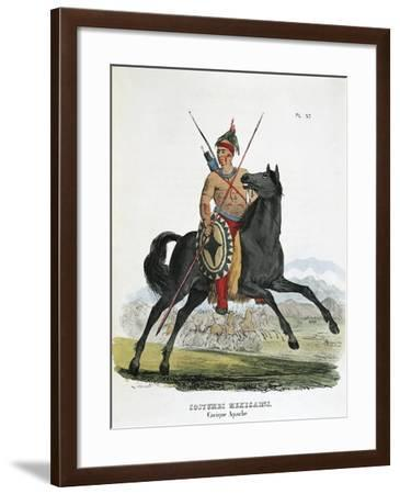 Mexico, Apache Native Chief from Colorado River in California--Framed Giclee Print