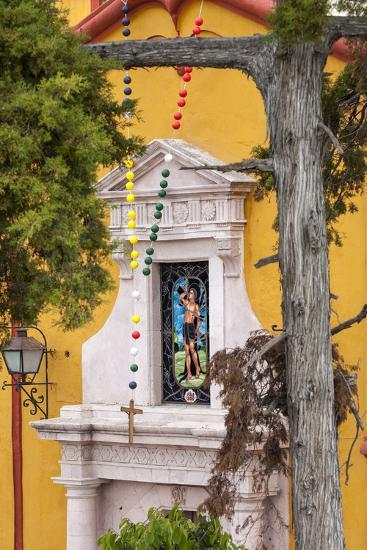 Mexico, Bernal, View of Church of St. Sebastian-Hollice Looney-Premium Photographic Print