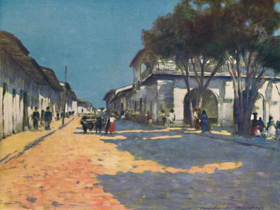 'Mexico City', 1903-Mortimer L Menpes-Giclee Print