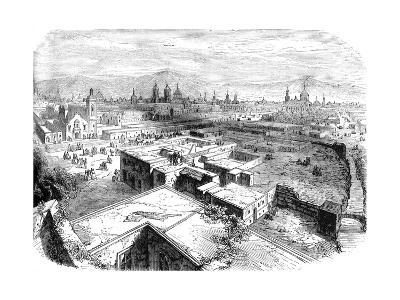 Mexico City, Mexico, Mid 19th Century--Giclee Print