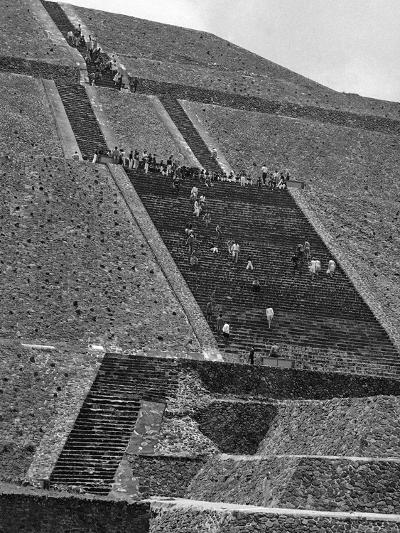 Mexico Excavations-George Brich-Photographic Print