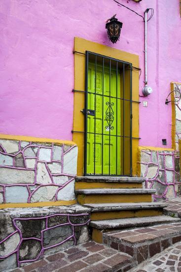 Mexico, Guanajuato, House in Guanajuato-Hollice Looney-Premium Photographic Print