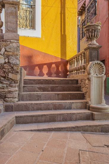 Mexico, Guanajuato, Steps and Shadows-Rob Tilley-Photographic Print