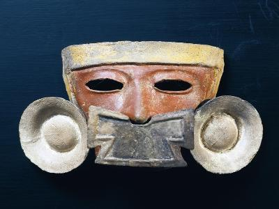 Mexico, Mask with Nasal Ornament--Giclee Print