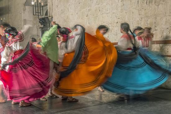 Mexico, Oaxaca, Mexican Folk Dance-Rob Tilley-Photographic Print