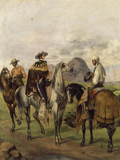 Mexico, Ranchers--Giclee Print