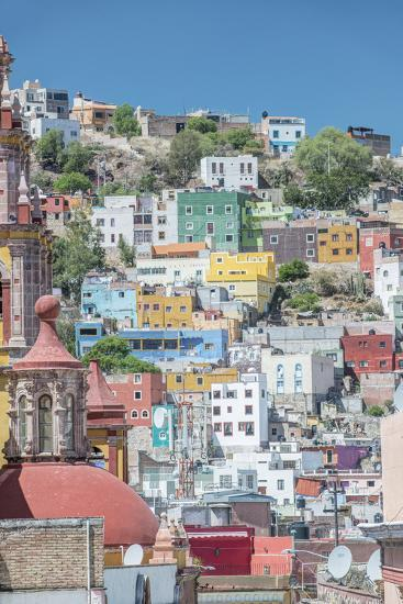 Mexico, Rooftop View of Guanajuato-Rob Tilley-Photographic Print