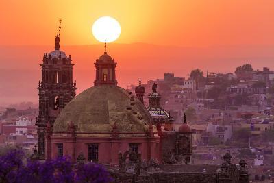 Mexico, San Miguel De Allende. City Overview at Sunset-Jaynes Gallery-Photographic Print