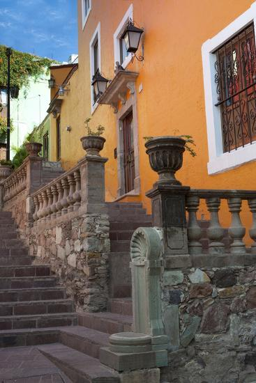 Mexico, the Colorful Homes and Buildings of Guanajuato-Judith Zimmerman-Photographic Print