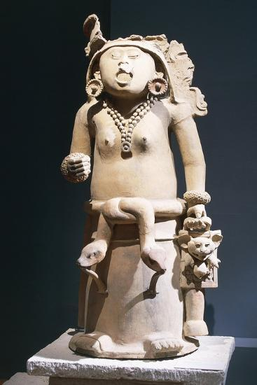 Mexico, Vera Cruz, Statue of Cihuateteo, Celestial Princess--Giclee Print