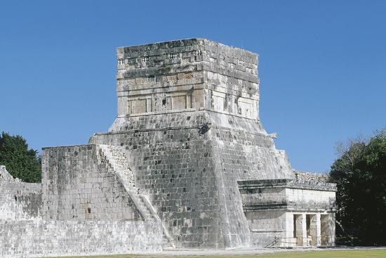 Mexico, Yucatan, Chichen Itza, Mayan Archeological Site, Great Ballcourt--Giclee Print