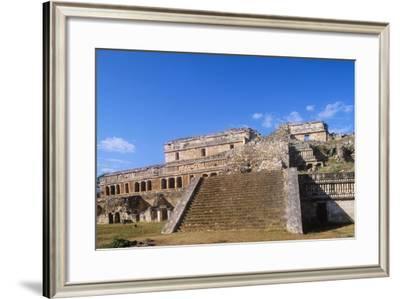 Mexico, Yucatan, Puuc Hills Region, Sayil, Puuc-Style Palace--Framed Giclee Print