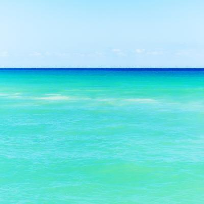 Mexico, Yucatan, Seascape with Blue Sky-Tetra Images-Photographic Print