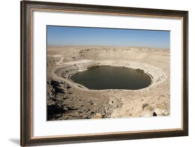 Meyil Obruk, 640M Wide Sinkhole Lake, Esentepe-Tony Waltham-Framed Photographic Print