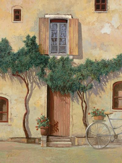Mezza Bicicletta Sul Muro-Guido Borelli-Giclee Print