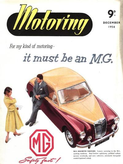 MG Cars, UK, 1950--Giclee Print