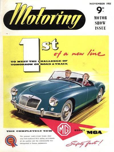 MG Convertibles, UK, 1950--Giclee Print