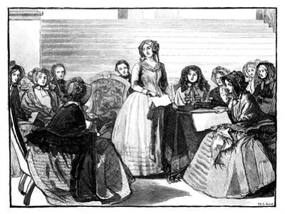 Meeting of the Ladies' Committee at Stafford House, Mid-Late 19th Century