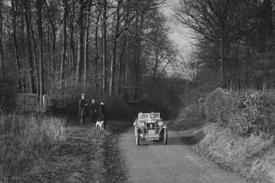 MG M Type competing in the MG Car Club Trial, 1931-Bill Brunell-Photographic Print