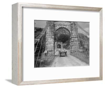 MG Magna of Kitty Brunell competing in the RSAC Scottish Rally, 1932-Bill Brunell-Framed Photographic Print