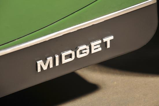 MG Midget 1979-Simon Clay-Photographic Print