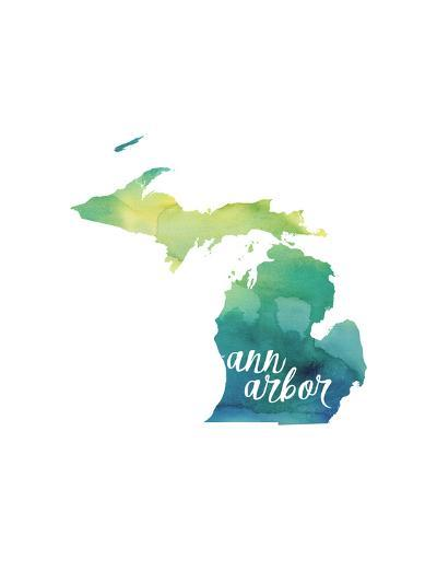 MI Ann Arbor-Paperfinch-Art Print