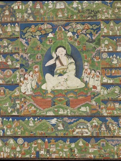 Mi-la ras-pa (1040-1123) (Milarepa)--Giclee Print