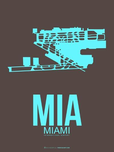 Mia Miamy Poster 2-NaxArt-Art Print