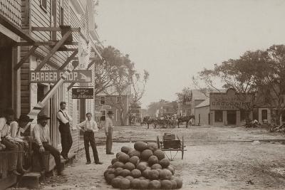 Miami Avenue Business District, 1896--Photographic Print