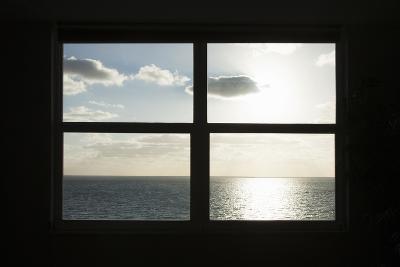 Miami Beach. Art Deco Window over the Ocean.-Buena Vista Images-Photographic Print