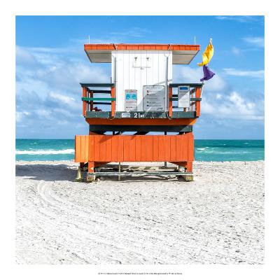Miami Beach I-Richard Silver-Art Print