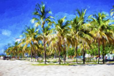 Miami Beach II - In the Style of Oil Painting-Philippe Hugonnard-Giclee Print
