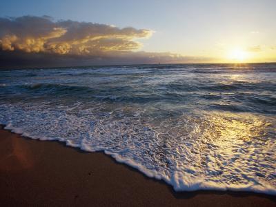 Miami Beach, South Beach Atlantic Shore-Jeff Greenberg-Photographic Print
