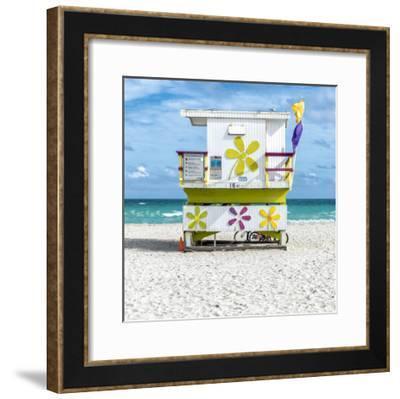Miami Beach VII-Richard Silver-Framed Art Print