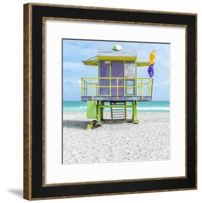 Miami Beach VIII-Richard Silver-Framed Art Print