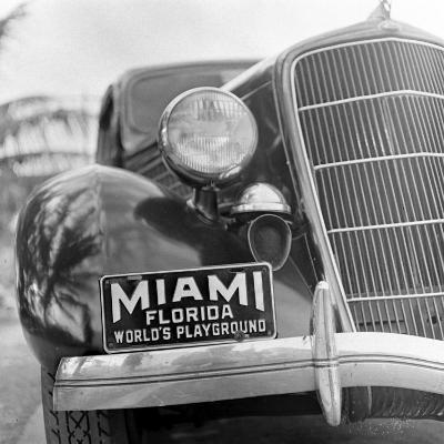 Miami Beach-Alfred Eisenstaedt-Photographic Print