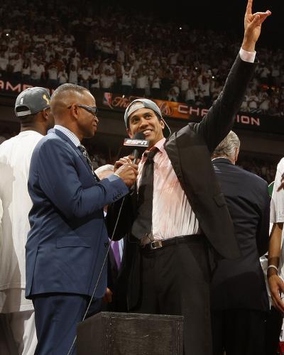 Miami, FL - June 21:  Head Coach Erik Spoelstra of the Miami Heat.-Issac Baldizon-Photo