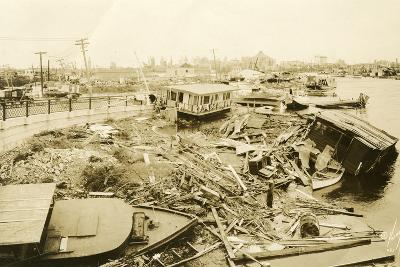 Miami River at Ramp to 5th Street Bridge, after the Hurricane, 1926--Photographic Print